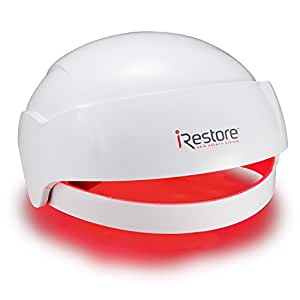 iRestore Laser Hair Growth System – FDA-Cleared Hair Loss Treatment for Men and Women with Thinning Hair - Laser Cap Uses Regrowth Therapy Similar to Combs, Brushes to Grow Thicker, Fuller Hair