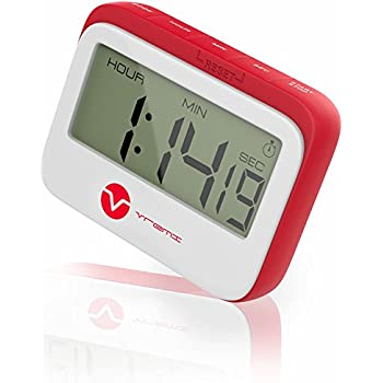 Delightful Vremi Digital Kitchen Timer Magnet   Loud Magnetic Kitchen Timer Clock With  Alarm And Large Display