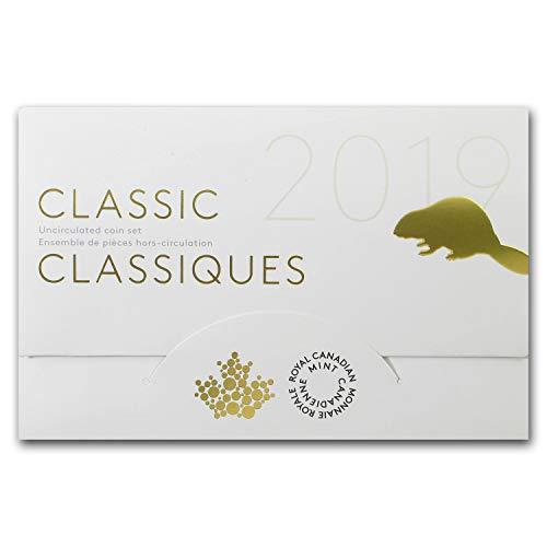 (CA 2019 6-Coin Classic Canadian Uncirculated Set Brilliant Uncirculated)