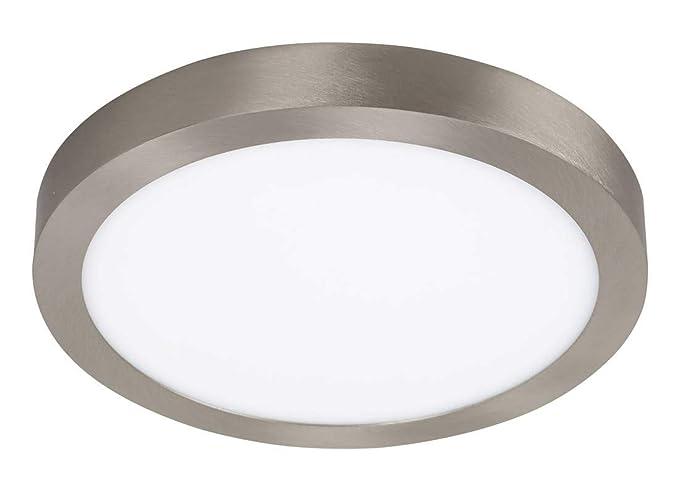 Lámpara de techo Lois de metal y plástico, 30 cm de diámetro ...