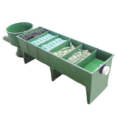 Koi-GFK-6-Kammer-Vortex-Teichfilter-bis-60000-Liter-inkl-Deckel-Filtermaterial-Verrohrung