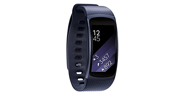 Amazon.com: Jewh Wearable Devices - Smart Accessories - Silicone Watch Band - Strap for Samsung Gear Fit 2 - SM-R360 Wristband - Watch Band(Dark Blue): Cell ...
