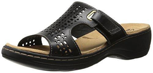 Clarks Kvinners Hayla Samoa Kile Sandal Svart