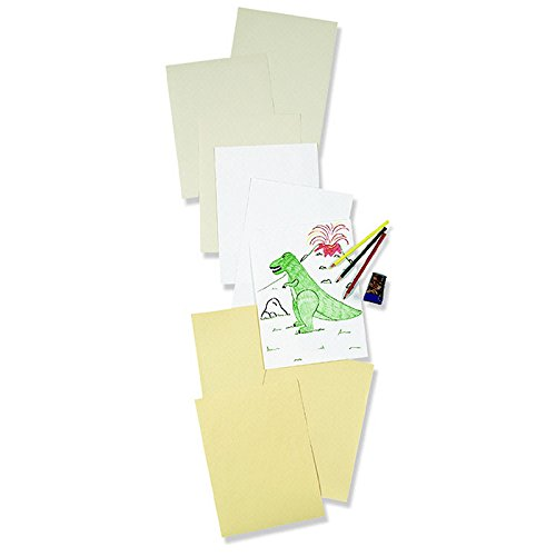 PACON CORPORATION WHITE DRAWING PAPER 9 X 12 80 LB (Set of 3)
