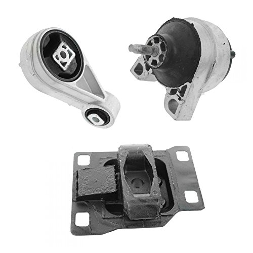 Mount 2 Torque (Engine Motor Transmission Torque Mount SET for 00-04 Ford Focus 2.0L SOHC)