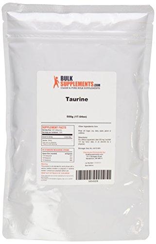 BulkSupplements Pure Taurine Powder (500 grams)