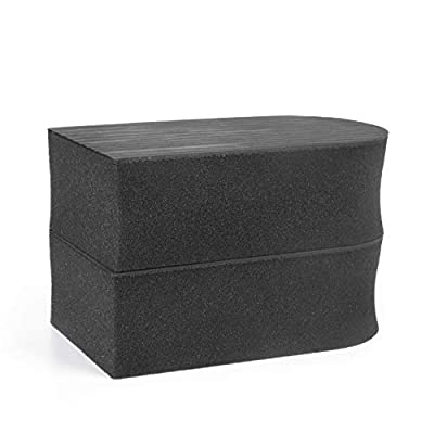 2 Pack - Fine Grade Synthetic Clay Bar Sponge for Car Detailing - Size Large - Lasts 3x Longer Than Traditional Clay Blocks - The Perfect Clay Block Alternative to Speed Through Clay Detailing like Ma: Automotive