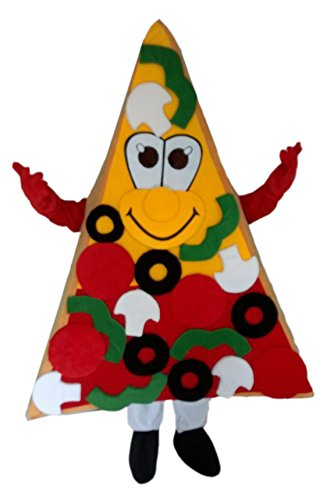 CostumeShine Pizza Mascot Costume Cake Walking Costume