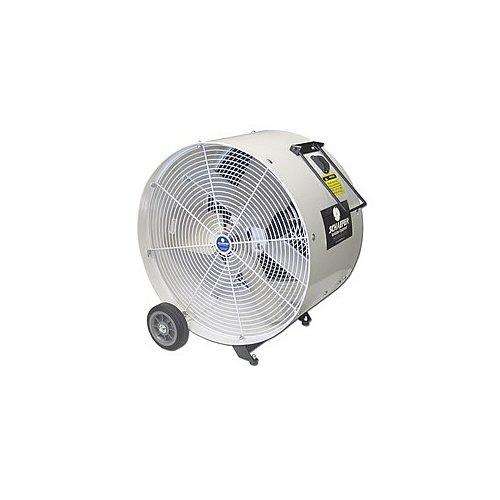 SCHAEFER VKM24-O VersaKool Mobile Spot Cooler Fan, OSHA Guards, Blade Material: Aluminum, 1/2 hp, 24