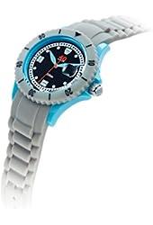 40Nine Unisex 40NINE03/COOLGREY10 Medium 40mm Analog Display Japanese Quartz Grey Watch