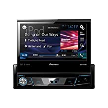 "Pioneer AVH-X7800BT DVD receiver with 7"" Flip-Out Display, Bluetooth, Siri Eyes Free & AppRadio One (Single DIN)"