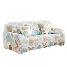 3 Seater Sofa Slipcover Stretch Protector Soft Couch Cover Washable Easy Fit - 11, As Described