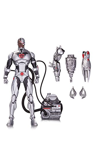 DC Collectibles DC Comics Icons: Cyborg from Forever Evil Deluxe Action Figure