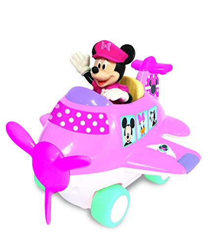 Kiddieland Toys Limited Minnie Mouse Airplane Adventure Baby Infant Toy, 6.5 X 8.5 X 7.5]()