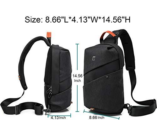 c0c168118e27 Mesonoda Sling Bag Crossbody Backpack Travel Shoulder Chest Daypack for Men  & Women - Travel