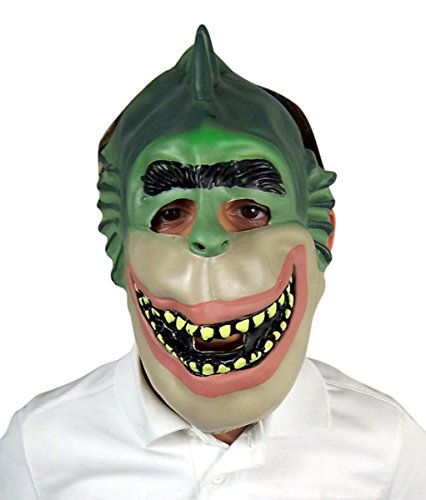 Monsters Vs. Aliens Child's Missing Link Halloween Costume Mask]()