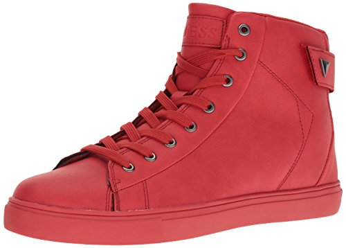 Guess Men's Tulley, Red, 8 Medium US (Mens Red Sneakers)