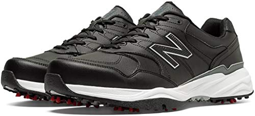 New Balance Mens Nbg1701 Golf Shoe Black 2E 11 (Style Men Shoes New)