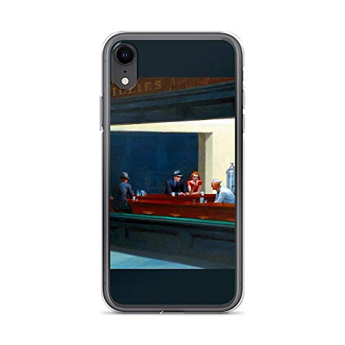- iPhone XR Pure Clear Case Cases Cover Nighthawks by Edward Hopper (1942)