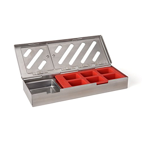 Taylor Precision Products 849GW Durable Grill Smoker Box (3 Piece), 0 by Taylor Precision Products