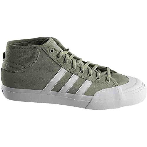 adidas Originals Herren Matchcour Mid Fashion Sneaker Sesam / Schuhe Weiß / Sesam