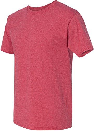 T Hanes Rouge shirt Foncé Homme r0wHBdnqw