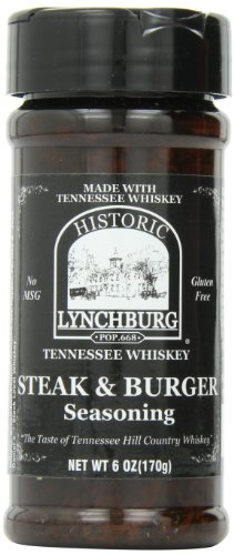 Historic Lynchburg Tennessee Whiskey Steak & Burger Seasoning