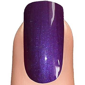 Nded-Laca de uñas permanentes de Gel, color morado pasión Nail-Eon: Amazon.es: Belleza
