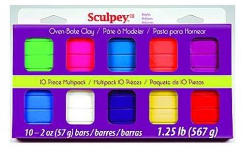 Sculpey III Multipacks (Brights) 1 pcs sku# 1841298MA