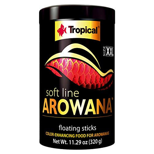 Tropical USA Arowana Fish Food, 320g (Best Food For Arowana Fish)