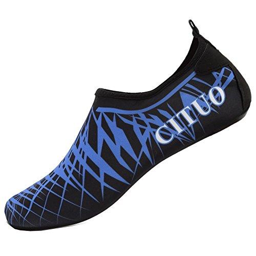 Mare Spugna Blu Pantofole Yoga Immersione Scarpe Da Corsa In Uomini Con Neopre Per Casa Scoglio Suole Barefoot Surf E Donne Snorkeling Spiaggia HqZSFqv
