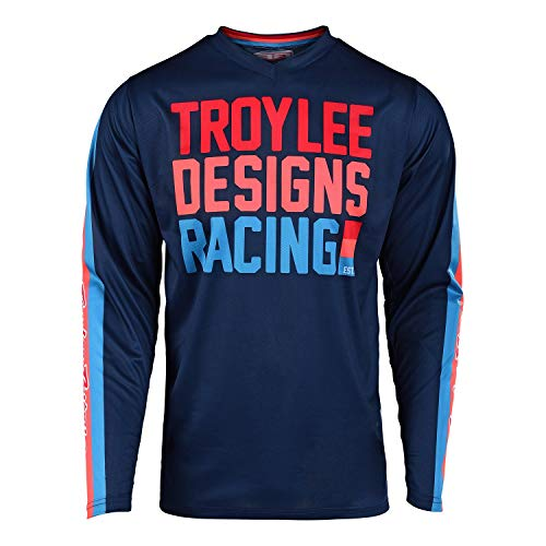 Troy Lee Designs GP Premix Youth Off-Road Motorcycle Jersey - Navy/X-Large