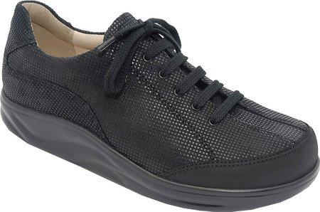 Finn Comfort Finnamic , Chaussures de ville à lacets pour femme noir Schwarz