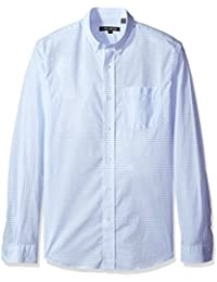 Men's Colton Long Sleeve Point Collar Shirt