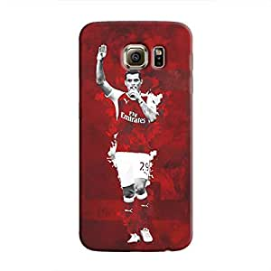Cover It Up - Granit Xhaka Red Galaxy S6 Edge Plus Hard Case