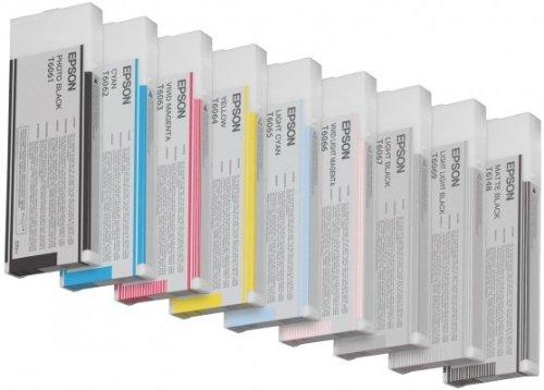 Epson UltraChrome K3 Ink Cartridge - 220ml Vivid Light Magenta (T606600)