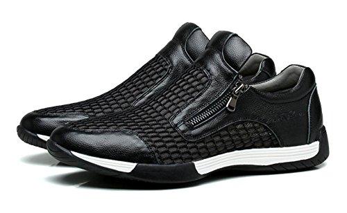 NBWE Mesh Respirant Sport Chaussures Chaussures De Course Confortable Des Hommes Chaussures De Sport Occasionnels Black Pd4Yy7FT