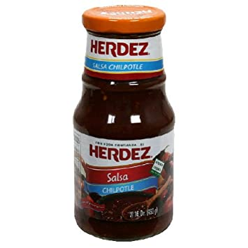 Herdez, Salsa Chipotle, 16 OZ (Pack of 12)