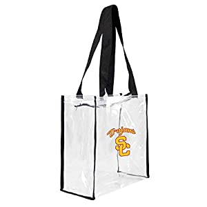 upc 686699692070 product image for NCAA USC Trojans Clear Square Stadium Tote | barcodespider.com