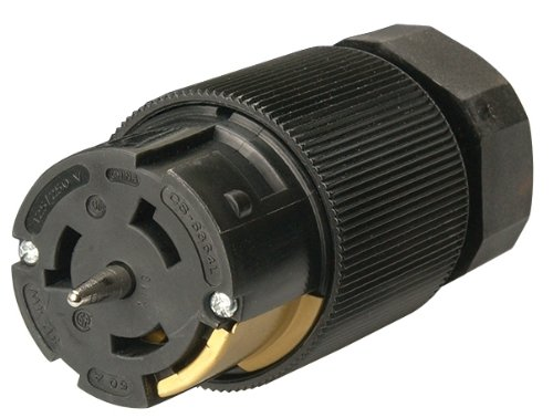 Coleman Cable 01919 50-Amp Twist-Lock Generator Power Extension Cord, 6/3 & 8/1 SEOW Black, 100-Foot by Coleman Cable (Image #3)
