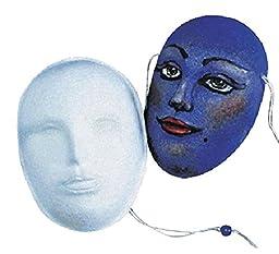 School Specialty M-145 MASK School Specialty Decorative Art Mask, Papier-Mache, 8\