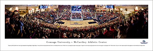 Gonzaga Bulldogs Basketball - Unframed 40 x 13.5 Poster by Blakeway Panoramas