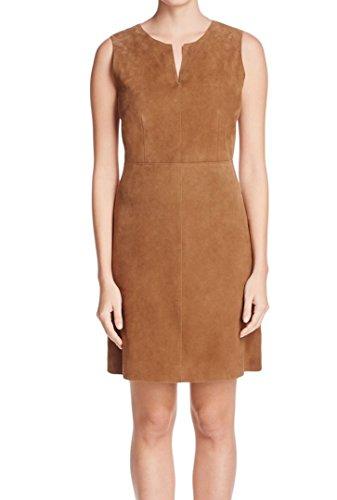 max-mara-womens-sheath-suede-split-neck-dress-brown-10