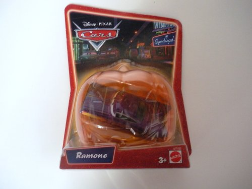 (Disney Cars Supercharged Ramone 1:55 Diecast Car [Halloween)