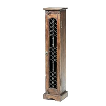 Jali Sheesham CD Unit - Indian Wood Furniture