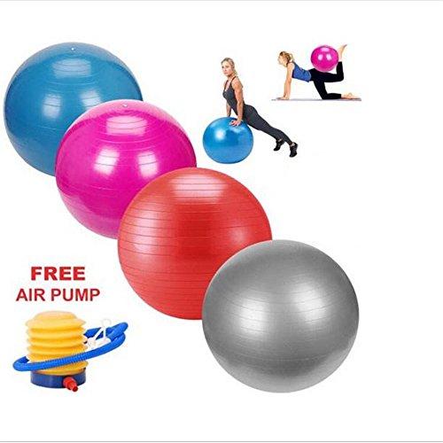 BART J Health Yoga Fitness Ball 65cm European popular multi use burstproof pvc exercise Yoga ball Gym center indoor use training fitness balls +Air Pump