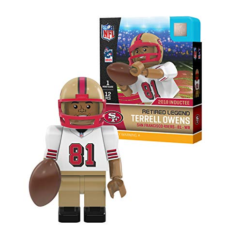 NFL San Francisco 49ers Sports Fan Bobble Head Toy Figures, red/Gold, One Size