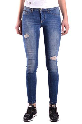 Plein Philipp Denim Femme Jeans Bleu WDT0656PDE001N084S 7RPn6