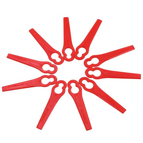 Chuancheng - Cortador de Cuchillas de plástico para cortacésped ...