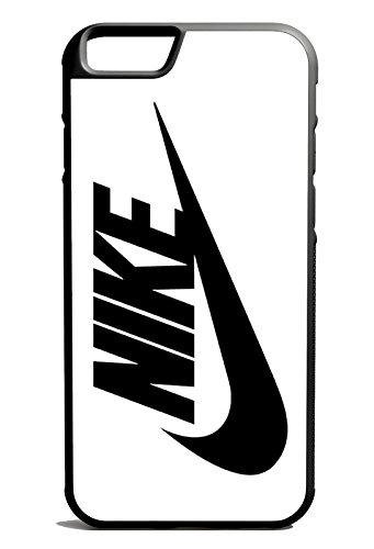 Just Do It Nike Logo Black And White iPhone 6 Case Black